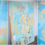 Katie Painting 3